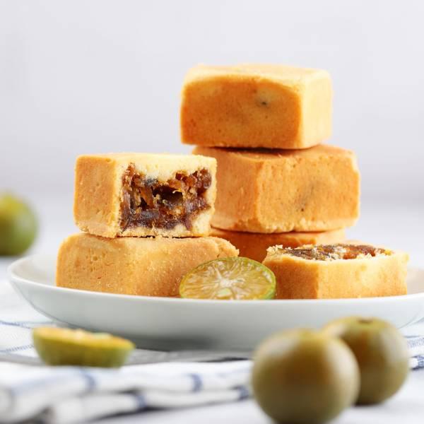 金桔鮮果酥禮盒8入禮盒 櫻桃爺爺,鳳梨酥,手工,伴手禮,桑椹