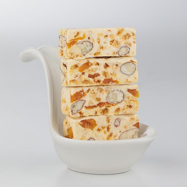 黃金芒果牛軋糖 (奶素) 200g 櫻桃爺爺,牛軋糖,情人節,交換禮物,草莓