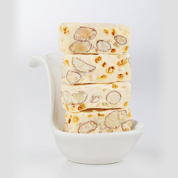 原味米牛軋糖 100g 櫻桃爺爺,牛軋糖,情人節,交換禮物,草莓