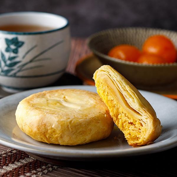 御皇餅-5入禮盒 【原價350】 櫻桃爺爺,中式,酥餅,伴手禮,傳統餅