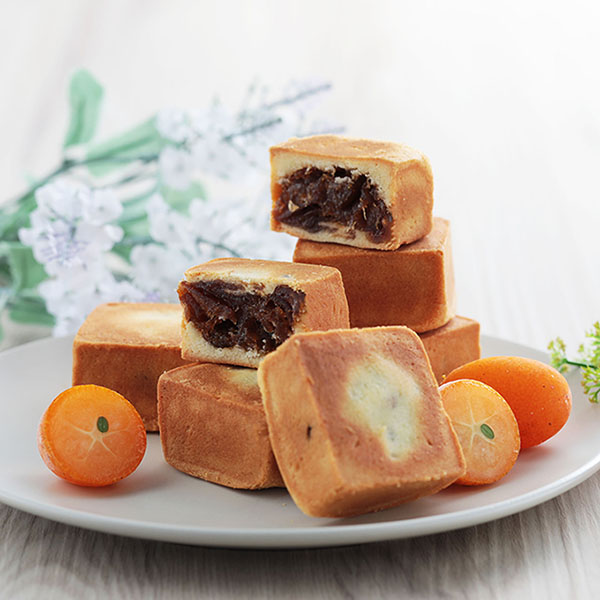 金棗鮮果酥 (奶蛋素) 6入禮盒【原價310】 櫻桃爺爺,鳳梨酥,砂糖橘,伴手禮