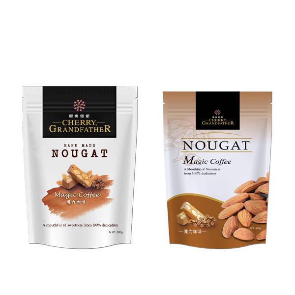 「海外商品」魔力咖啡牛軋糖 魔力咖啡牛軋糖