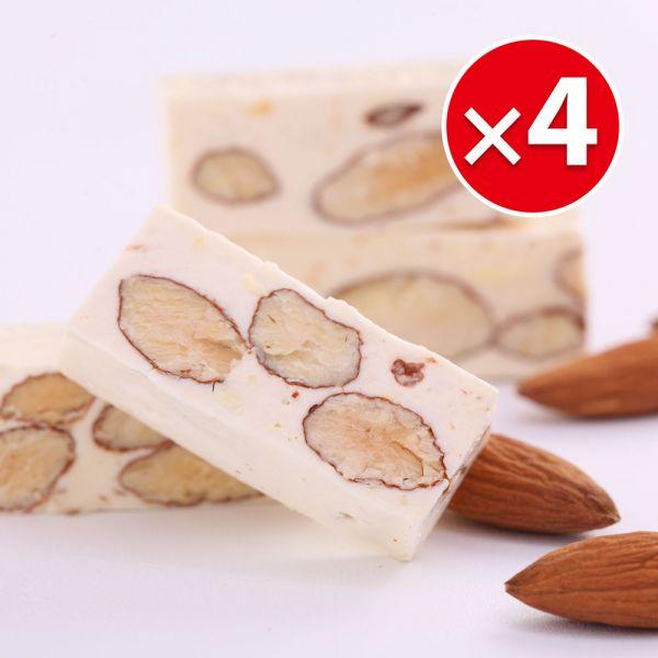 經典原味牛軋糖(230g)X4包組 櫻桃爺爺,牛軋糖,手工,伴手禮