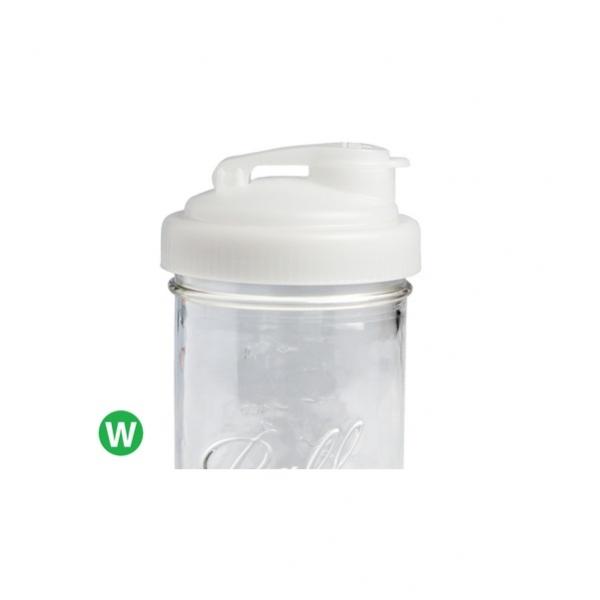 POUR-寬口白色多功能杯蓋