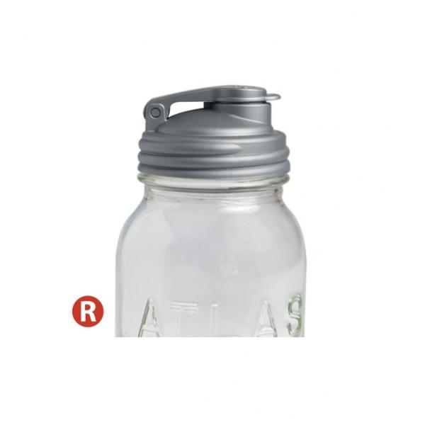 POUR-窄口銀色多功能杯蓋