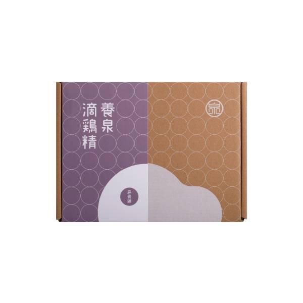養泉滴雞精 - 烏骨雞滴雞精禮盒(6入)