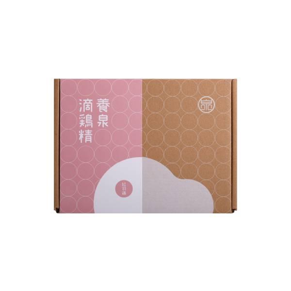 養泉滴雞精 - 紅羽滴雞精禮盒(6入)