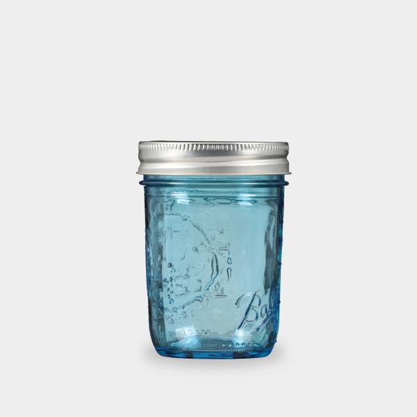Ball梅森罐 8oz 藍色窄口