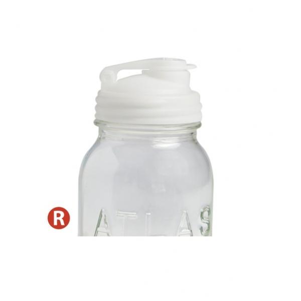 POUR-窄口白色多功能杯蓋
