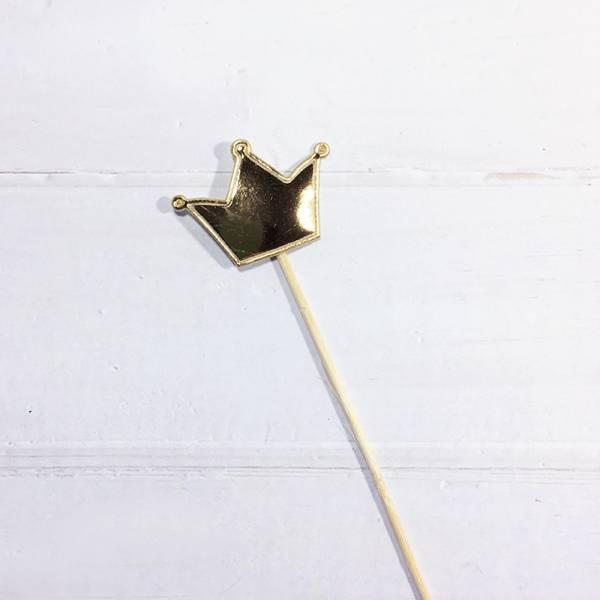 配件-E18-亮皮皇冠-金色