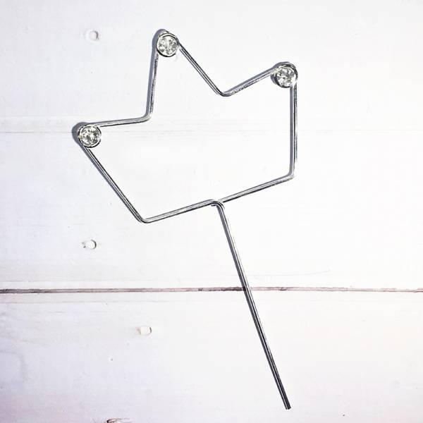 配件-C10-銀色皇冠插件