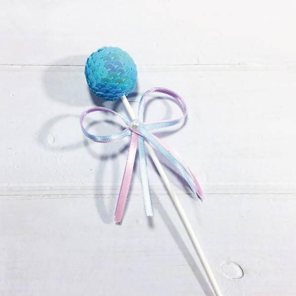 配件-D40-藍蔥圓球