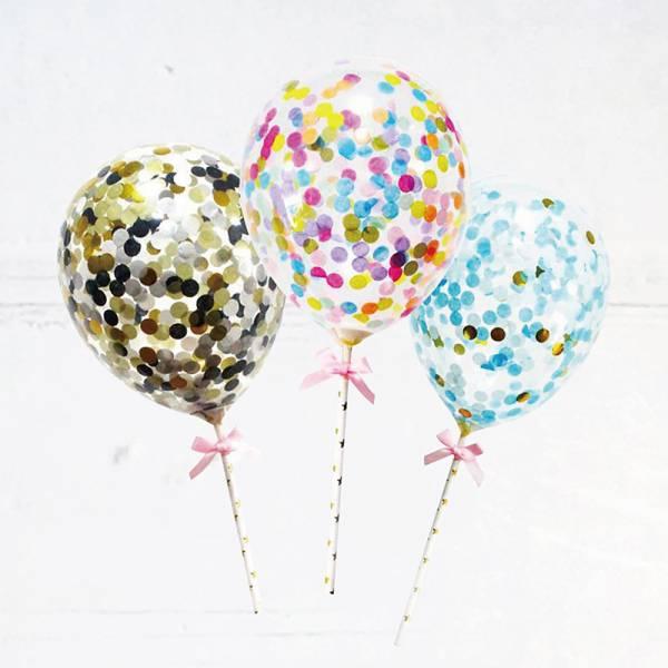 配件-J1-亮片氣球-圓形(隨機出貨)-加購