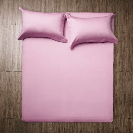 Claudek Perlina原色床單枕套組-石英粉