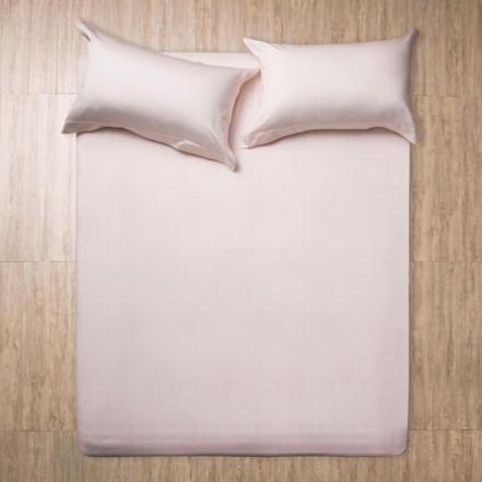 Azomaco原色床單枕套組-輕卡其