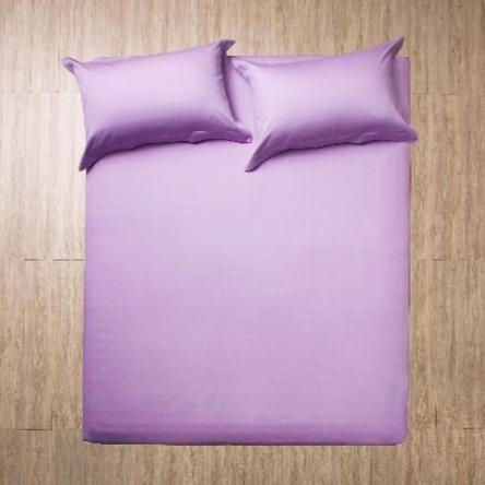 azomaco原色床單枕套組-羅蘭紫