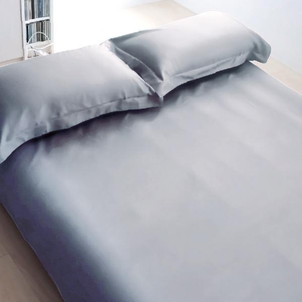 Elegant 三件式床組 E008 沈穩灰 平單9x10呎 枕套組