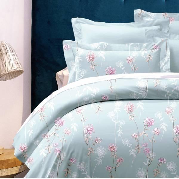 (標準雙人)La Fatte新品DC03 卡里瑟|印花四件式床組 雙⼈床包兩用被單組