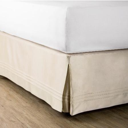 蘭桂坊床裙-棕