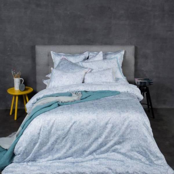 Kaleidoscope頂級原裝埃及棉緞織四件式床組(Queen床包+加大被套)