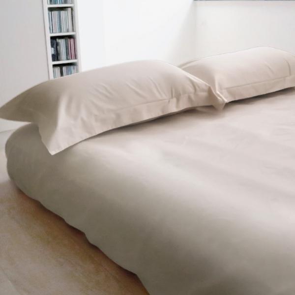 Elegant 三件式床組 E008 淺卡其 平單9x10呎 枕套組