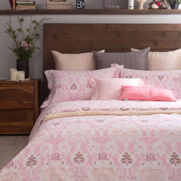 azomaco印花四件式床組-A254 芭芭鹿比 床包尺寸:5x6.2呎(約150x186 cm) ; 被子尺寸:6x7呎(約180x210 cm)