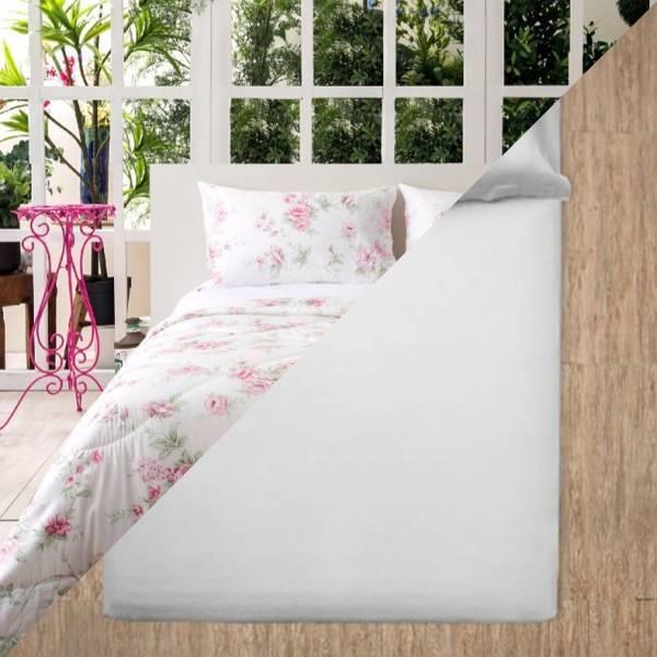標準尺寸印花床組(A253)+2套純色三件式床組(尺寸/顏色任選)