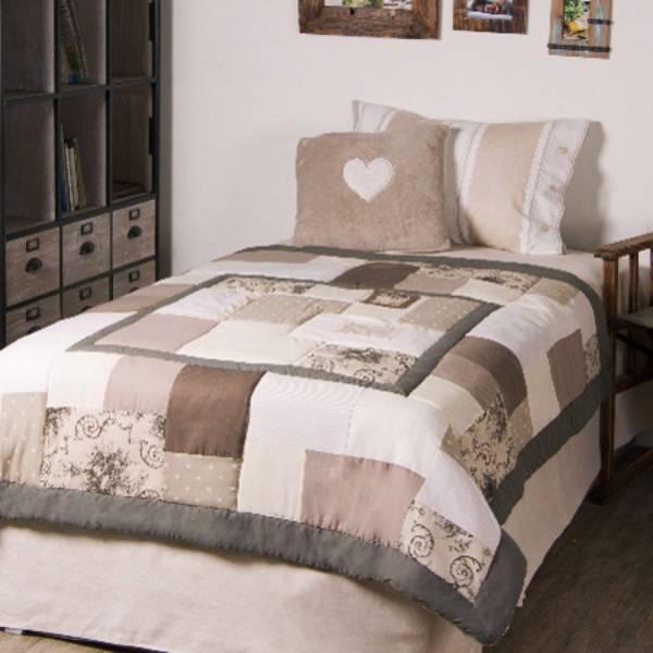 KLARA法式拼布蓋毯 150cm x 150cm