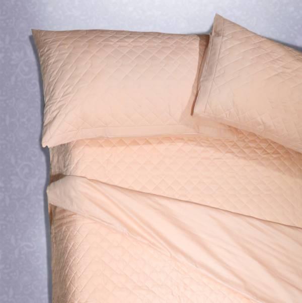 (法蝶新品)Lafatt'e rainbow 糖果粉系列  車棉Quitting6*6.2/6*7被套床包四件組 100%純棉