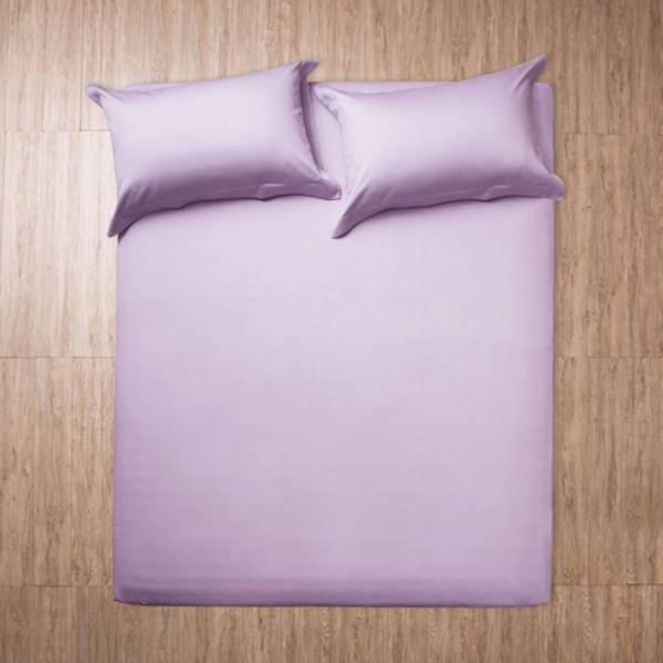 azomaco原色床單枕套組-粉紫