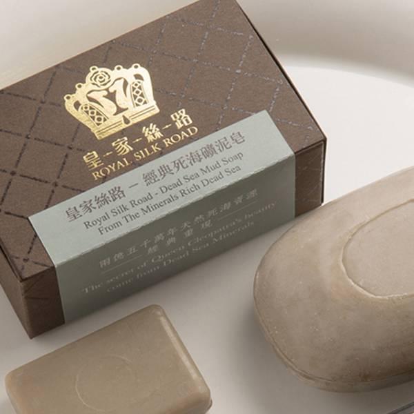 經典死海礦泥皂|死海黑泥洗顏皂|潔淨清爽、滋潤柔膚、保濕鎖水