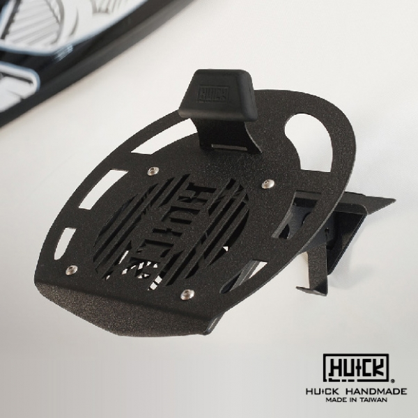 Black HUCK Helmet Rack - Ventilated   helmet