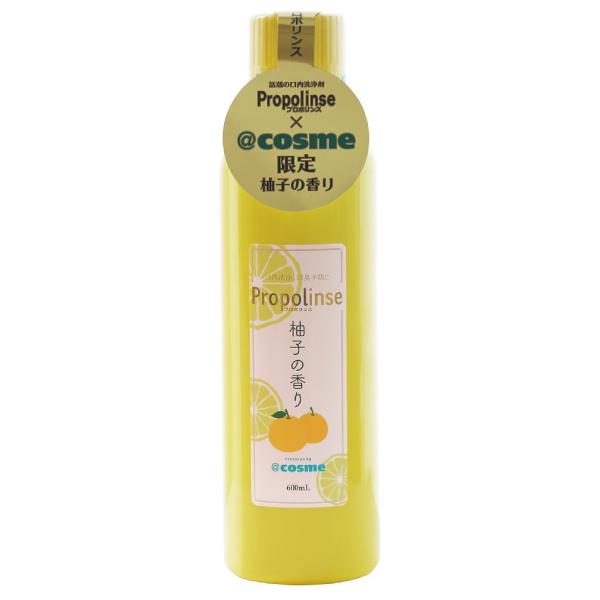 日本Propolinse 柚子蜂膠漱口水 600ml Propolinse,日本,櫻花,蜂膠漱口水,漱口水