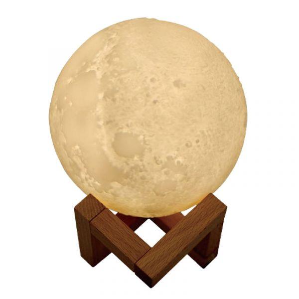 月球香薰小夜燈 月球香薰小夜燈 小夜燈 月球造型燈 香燻燈 造型加濕器