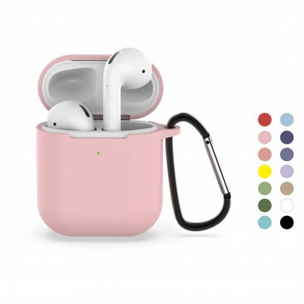 二代液態矽膠 AirPods 保護套 Airpods 蘋果無線耳機矽膠保護套 二代可用 液態矽膠 保護套 防摔 耐髒 可水洗