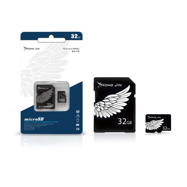 宏晉 microSD 記憶卡32G