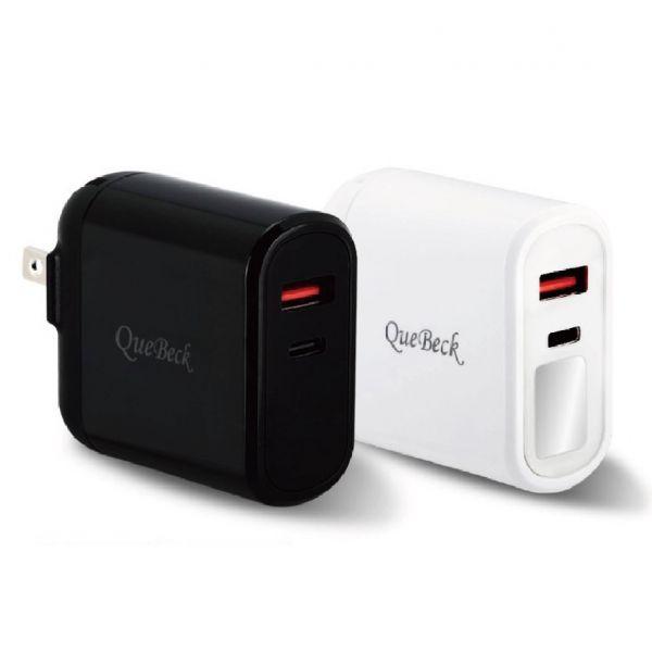 QueBeck 智能數顯手機充電器