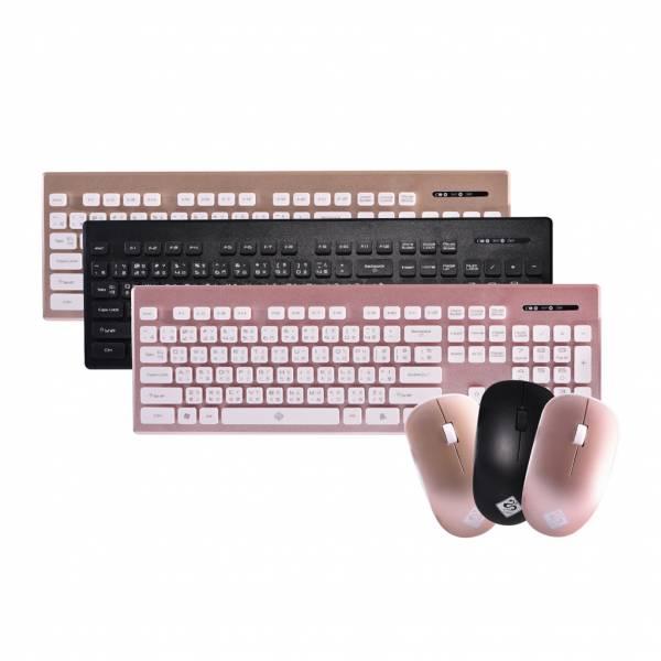 超輕薄辦公無線鍵盤滑鼠組