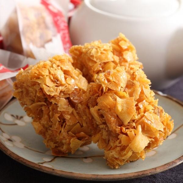 古早味蕃薯糖(全素) 小琉球,傳統,伴手禮,送禮,地瓜,地瓜酥,蕃薯糖,手工,素食