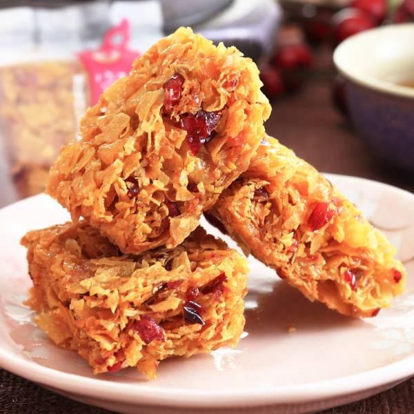 蔓越莓蕃薯糖(全素) 小琉球,傳統,伴手禮,送禮,地瓜,地瓜酥,蕃薯糖,手工,素食