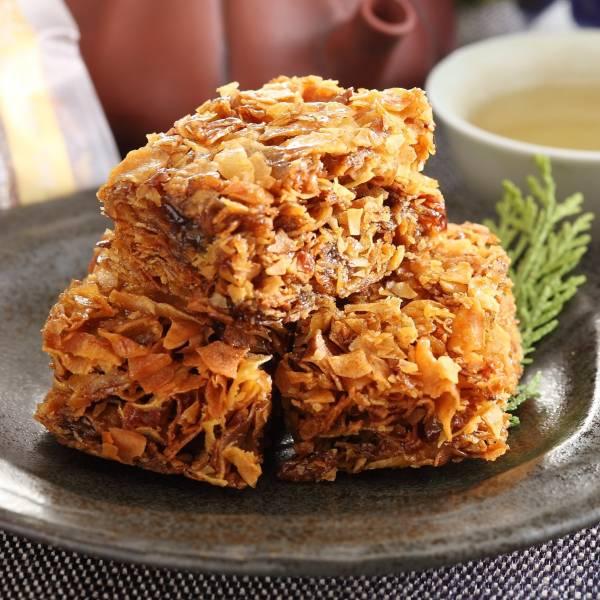 黑糖蕃薯糖(全素) 小琉球,傳統,伴手禮,送禮,地瓜,地瓜酥,蕃薯糖,手工,素食,黑糖