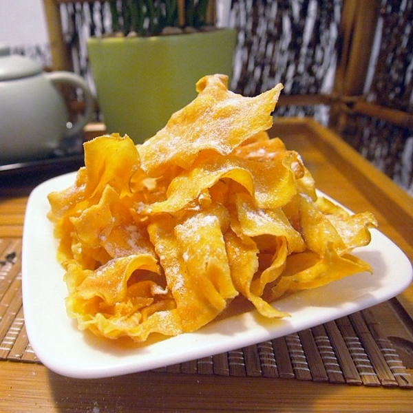 黃金脆薯片-原味(全素) 小琉球,傳統,伴手禮,送禮,地瓜,地瓜酥,蕃薯糖,手工,素食