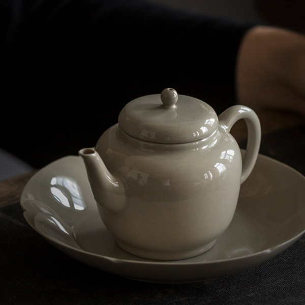禪風草木灰陶器茶壺 泡茶器具 禪風草木灰陶器茶壺 泡茶器具 160ml