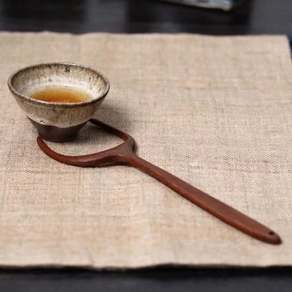 手工竹製茶杯叉 防燙 茶道 茶席配件 手工竹製茶杯叉 防燙 茶道 茶席配件