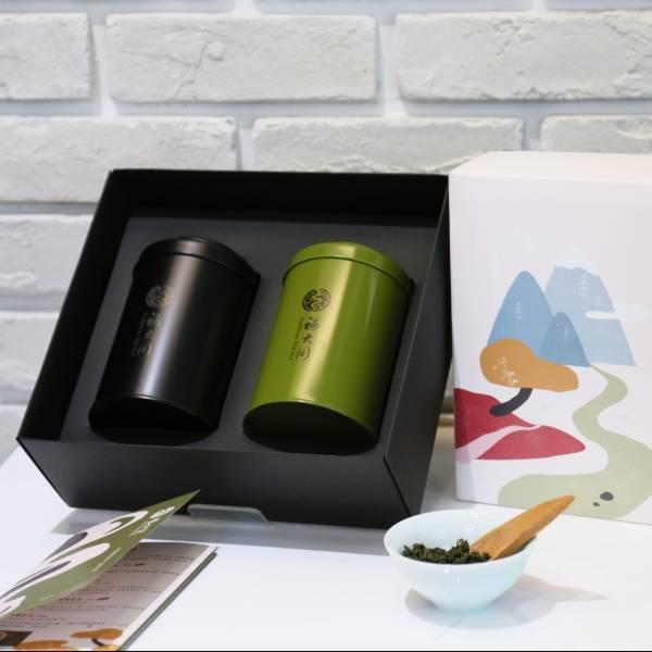 禮盒包裝加購區 日本製四兩鐵罐山水禮盒組 半斤禮盒 禮盒包裝加購區300元