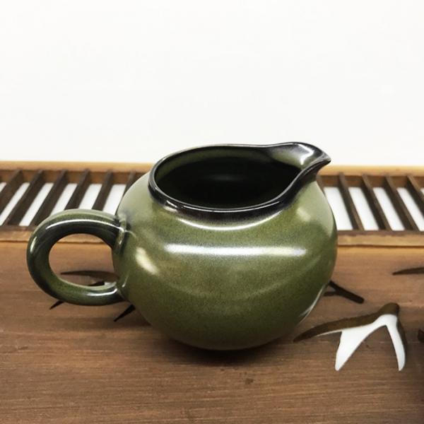 景德手製茶墨色 功夫茶海 茶盅 200cc 景德手製茶墨色 功夫茶海 200cc