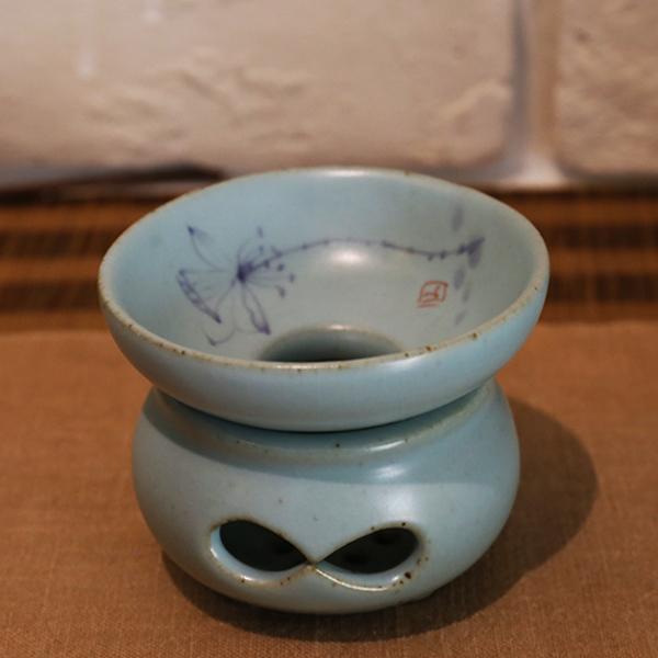 蘭繪陶器茶濾  沖茶濾茶沫渣 年度熱賣 蘭繪陶茶濾 陶器茶濾網 沖茶必備濾茶葉渣