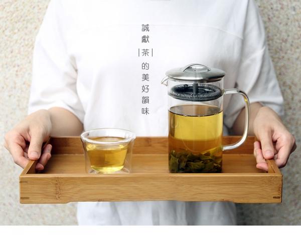 EASY沖泡玻璃壺600ml EASY沖泡玻璃壺600ml 耐熱玻沖茶瓶 茶過濾 手把式