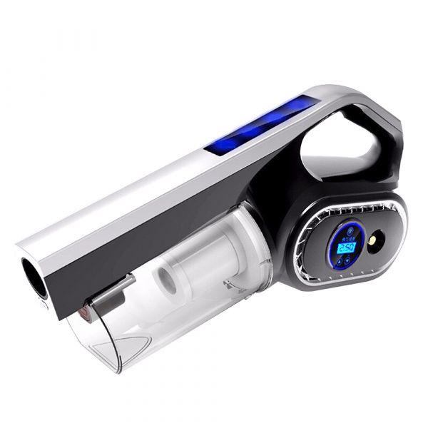 【安伯特】快槍俠觸控吸塵 打氣機 定磅打氣 測胎壓 HEPA濾網【DouMyGo汽車百貨】