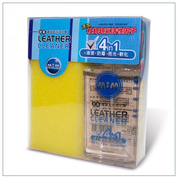美久美 皮革清潔去污活化劑(4合1)乳液250ml杜邦超氟活化因子 【DouMyGo汽車百貨】